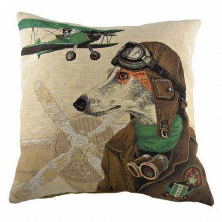 Подушка с принтом Doggie Fighters Green DG Home Pillows DG-D-PL276