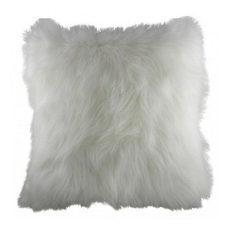 Подушка из искуственного меха White DG Home Pillows DG-D-PL278