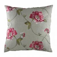 Подушка с орнаментом Pink Flowers DG Home Pillows