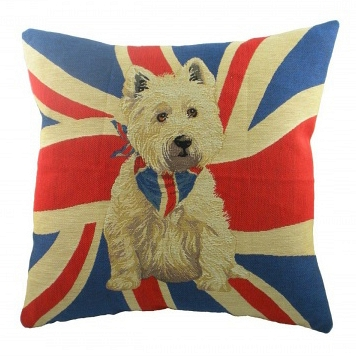 Подушка с принтом Jack Westie DG Home Pillows DG-D-PL295