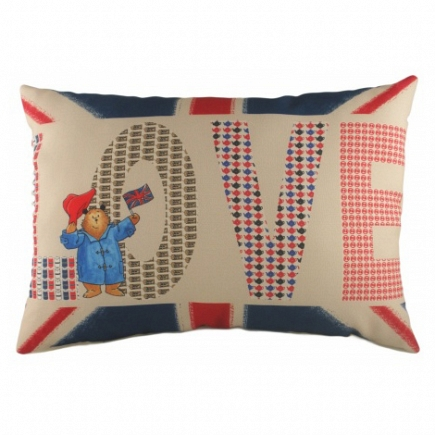 Подушка с принтом Paddington Love DG Home Pillows DG-D-PL308