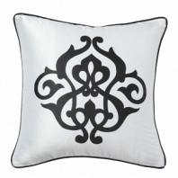 Подушка с принтом  Fleur de Lys White I DG Home Pillows