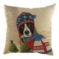 Подушка с принтом Ski Dogs Border Collie DG Home Pillows