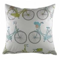 Подушка с принтом Summersdale Teal DG Home Pillows