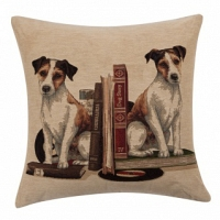 Подушка с принтом Bookends Jack Russell DG Home Pillows