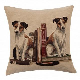 Подушка с принтом Bookends Jack Russell DG Home Pillows DG-D-PL337