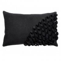 Подушка с объемным узором Alicia Dark Gray DG Home Pillows