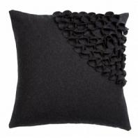 Подушка с объемным узором Alicia Dark Gray 2 DG Home Pillows