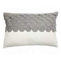Подушка c узором Marbella Gray DG Home Pillows