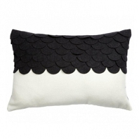 Подушка c узором Marbella Black DG Home Pillows