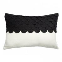 Подушка c узором Marbella Black DG Home Pillows