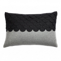 Подушка c узором Marbella Dark Gray DG Home Pillows