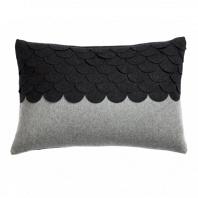Подушка c узором Marbella Dark Gray DG Home Pillows