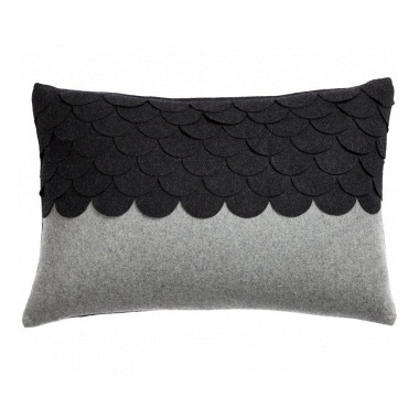 Подушка c узором Marbella Dark Gray DG Home Pillows DG-D-PL409