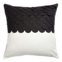 Подушка c узором Marbella Black 2 DG Home Pillows