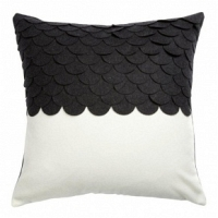 Подушка c узором Marbella Black 2 DG Home Pillows