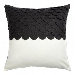 Подушка c узором Marbella Black 2 DG Home Pillows DG-D-PL411
