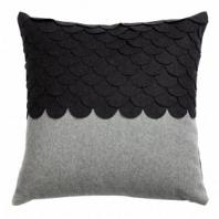Подушка c узором Marbella Dark Gray 2 DG Home Pillows