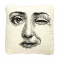 Подушка с принтом Faces Piero Fornasetti Three DG Home Pillows
