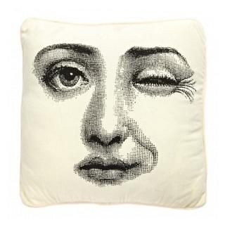 Подушка с принтом Faces Piero Fornasetti Three DG Home Pillows DG-D-PL429