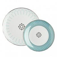 Комплект тарелок Turquoise Veil DG Home Tableware