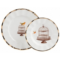 Комплект тарелок Welle DG Home Tableware