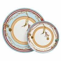 Комплект тарелок Veluche DG Home Tableware Yalong