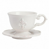 Чайная пара Tess Cream DG Home Tableware Evergreen