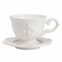 Чайная пара Tess Cream DG Home Tableware Evergreen