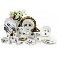 Столовый сервиз Golden Faces на 6 персон DG Home Tableware (61 предмет)
