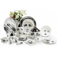 Столовый сервиз Silver Faces на 6 персон DG Home Tableware (61 предмет)