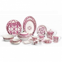Столовый сервиз Sienna на 6 персон DG Home Tableware (67 предметов)