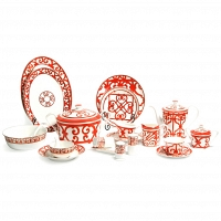 Столовый сервиз Heritage на 6 персон DG Home Tableware (67 предметов)