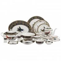 Столовый сервиз Antique на 6 персон DG Home Tableware (67 предметов)