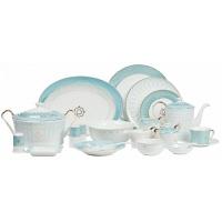 Столовый сервиз Turquoise Veil на 6 персон DG Home Tableware (67 предметов)