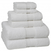 Полотенце банное Kassatex Elegance Towels White
