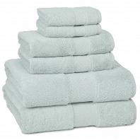 Полотенце для рук Kassatex Elegance Towels Seafoam