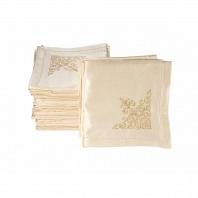 Набор салфеток 6 шт Asabella Tablecloths 40x40 см