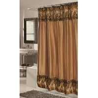 Шторка Carnation Home Fashions Shower Curtains Panthera-Tiger Fur