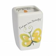 Стакан для зубной пасты Creative Bath Flutterby