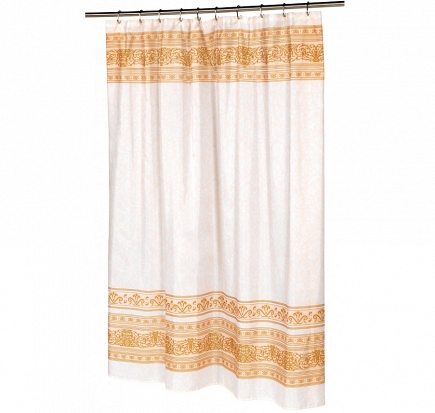 Шторка Carnation Home Fashions Shower Curtains Fleur FSC-FL/02