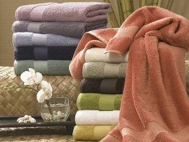 Kassatex Bamboo Bath Towels