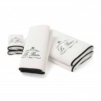 Полотенце для пальцев Kassatex Le Bain White 33x33см