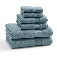 Полотенце для рук Kassatex Long Twist Bluestone