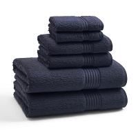 Полотенце для рук Kassatex Long Twist Eclipse Blue