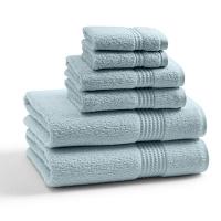 Полотенце для рук Kassatex Long Twist Pearl Blue