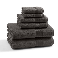 Полотенце для рук Kassatex Long Twist Shadow Grey