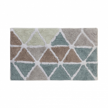 Коврик Creative Bath Triangles 53х86см R1250NAT