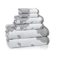Полотенце банное Kassatex Roma Tile Grey