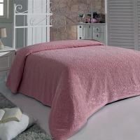 ESRA (розовая) Простынь Махровая Sofi de Marko Plaids 200х220см